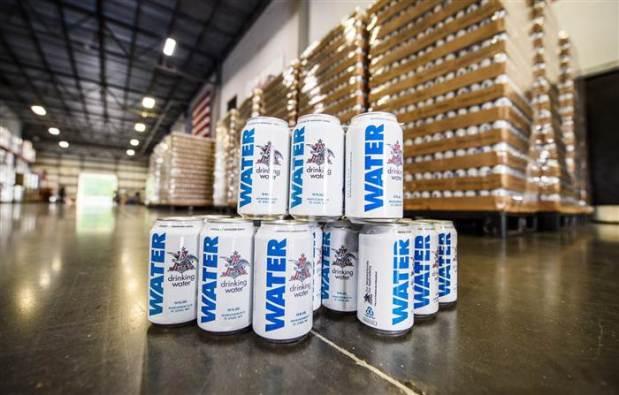 water - beer